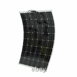 200 Watt 200W Watts Solar Panel 18V Volt 8 Off Grid Battery Charge For RV Boat