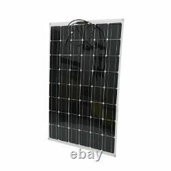 200 Watt 200W Watts Solar Panel 18V Volt 8 Off Grid Battery Charge For RV Boat