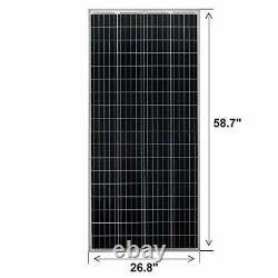 200 Watt 24 Volt Moncrystalline Solar Panel High Efficiency Solar Module 200W