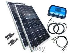 200 Watt Camping Solaranlage, 12 Volt SET