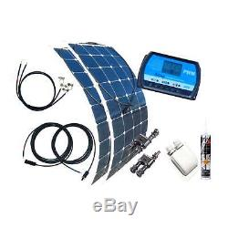 200 Watt Flexi Wohnmobil Camping Solaranlage, 12 Volt SET