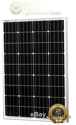 200 Watt Mono Solar Panel Kit 12V 200W 12-Volt Battery Charging RV Boat Off-Grid
