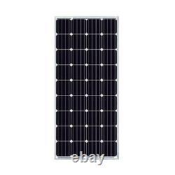200-Watt Off-Grid Solar Panel Kit for Outdoor Use RV Boat Truck 12 Volt Charging