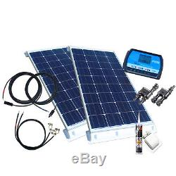 200 Watt Wohnmobil Camping Solaranlage, 12 Volt SET