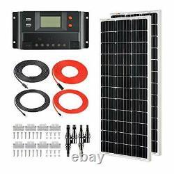 200 Watts 12 Volts Monocrystalline Solar Kit
