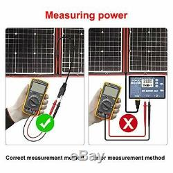 220 Watts 12 Volts Monocrystalline Foldable Solar Panel with Charge Controller
