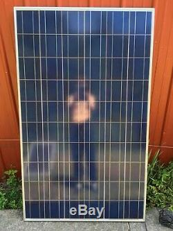 225 WATT 24 Volt / 8 Amps! Grade A / 60 Cell LARGE SOLAR PANEL