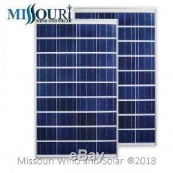 230 Watt 24 Volt Polycrystalline Solar Panels (Two Panels)