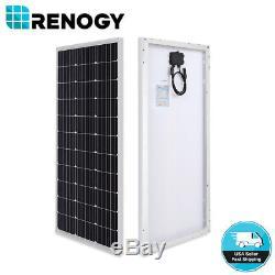 2PCS Renogy Compact Design 100 Watt 12V Volt Mono Solar Panel 200W Watt PV Power