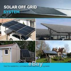 2Pcs Renogy 100 Watt 12V Volt Mono 200W Watt Solar Panel (BLACK FRAME) PV Power