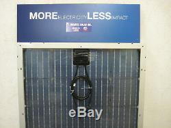 2- 200 +25% Watt 12 Volt Battery Charger Solar Panel Off Grid RV Boat B-GRADE