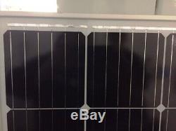 2- 210 Watt 12 Volt Solar Panel Off Grid RV Boat 420 watt total B GRADE