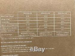 2 Sunpower 110 Watt 18 Volt Flexible Solar Panels New In Box
