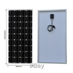 300W 300 Watt Solar Panel Kit with LCD Controller 12V 12 Volt Off Grid System