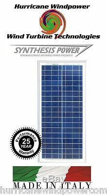 30W 12V Poly-Crystalline Solar Panel 30 Watt 12 Volt Off Grid RV lot of 5