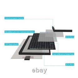 30-Watt 12-Volt Monocrystalline Solar Panel (New Edition)