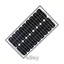 30 Watt 24 Volt Monocrystalline Solar Panel Gate Opener Pool Garden Driveway