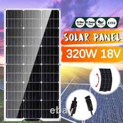 320W Semi-flexible Solar Panel 18Volt Solar Cell Cell Module DC for Car Yacht