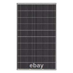 320-Watt 24-volt Monocrystalline Solar Panel 4-Piece Portable Lightweight Thin