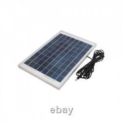 345mmx235mmx17mm 10 Watts 12 Volts Monocrystalline Solar Panel. Unique Bargains