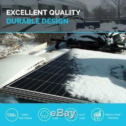 3Pcs Renogy 100W Watt 12V Volt 300W Mono Solar Panel (BLACK FRAME) PV Power