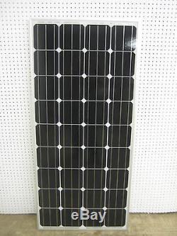 3- 165 Watt 12 Volt Battery Charger Solar Panel Off Grid RV Boat 495 watt total