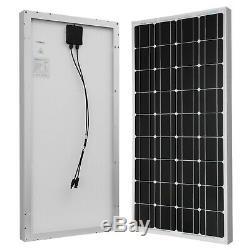 3 renogy 100 Watt 12 Volt Mono Solar Panel
