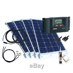 400 Watt Wohnmobil Camping Solaranlage mit Steca, 12 Volt SET