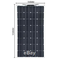 400w's of solar panel's Monocrystalline Solar Cell Flexible 12/24 volt
