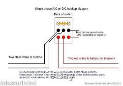 48 volt digital charge controller / brake switch divert load 4 wind & solar