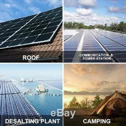 4PCS 170 Watt 12 Volt Moncrystalline Solar Panel High Efficiency Mono Module BT