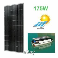 4PCS 170 Watt 12 Volt Moncrystalline Solar Panel High Efficiency Mono Module EK