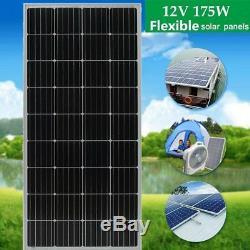 4PCS 170 Watt 12 Volt Moncrystalline Solar Panel High Efficiency Mono Module OY