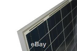 (4 pcs) 100W Watts 100 Watt Solar Panel Off Grid 12 Volt 12V RV Boat Off Grid