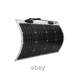 50-Watt 12-Volt Flexible Monocrystalline Solar Panel