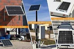 50 Watt Solar Charger Panel for 12 Volt Battery Lawnmower Boat Marine RV Camper