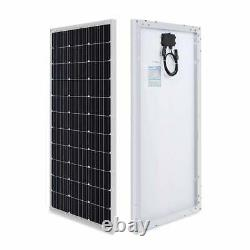 600-Watt 12-Volt Monocrystalline Solar Premium Kit with Rover 60 Amp Charger