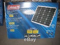 80 Watt 12 Volt Solar Crystalline Panel Camping Solar Power Panel Sun WithInverter