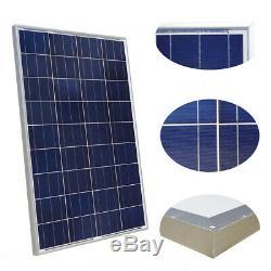 8100 Watt 12 Volt Solar Panel 800W 12V 24V Off Grid Power Charger RV Home Boat