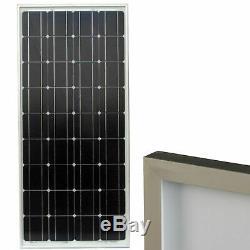 90 Watt 12 Volt HQRP Monocrystalline Solar Panel 90W 12V