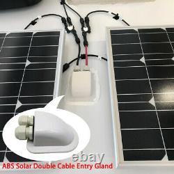ACOPOWER 400Watts 4PCS 100W 12 Volts Mon Panel Solar RV Kits