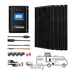 ACOPOWER 400 Watts 12/24 Volts Monocrystalline Panel Solar RV Kits with 40A MPPT