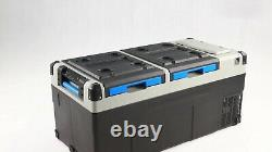 Alpicool E75 portable (RV) cooler with internal battery 120/220 Volts, 12 volt