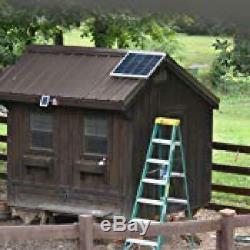Attic Fan Powered By Solar Panel 80 Watt Motor 14 Inch Roof Vents 12 Volt
