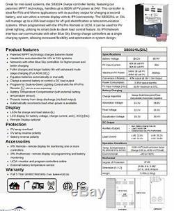 Blue Sky 30 Amp 12/24 Volt SB3024iL MPPT Solar Panel Charge Controller