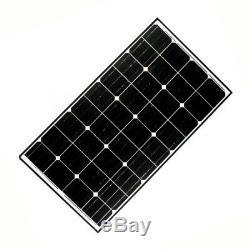CLEARANCE SALE- ALEKO 125W Monocrystalline Solar Panel 12 Volt Output