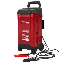 Car Battery Charger 6-Volt 12-Volt 2 Wheels Maintainer Built-in Microprocessor