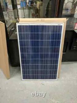 Coleman 100 Watt 12 Volt Solar Panel Crystalline Battery Charger Free Shipping