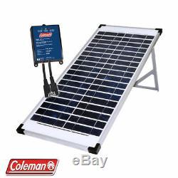 Coleman 40W 12V Solar Panel with 7 Amp Charge control 40 Watt 12 Volt Rv