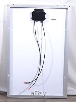 Coleman 51880 Crystalline 100 Watt Solar Panel 12 Volt RV/Boat 40 Weatherproof